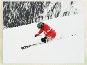 Expert ski